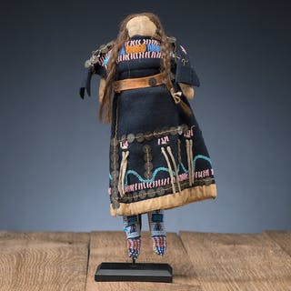 Northern Plains Beaded Doll
