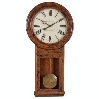 Monumental Sperry & Co. Wall Clock, Sperry & Co