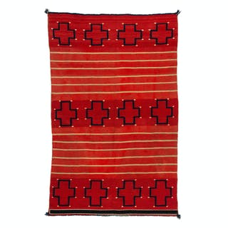 Navajo Child's Late Classic Blanket / Rug
