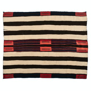 Navajo Late Classic Second Phase Blanket / Rug