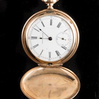 14k Yellow Gold Edgemere Pocket Watch