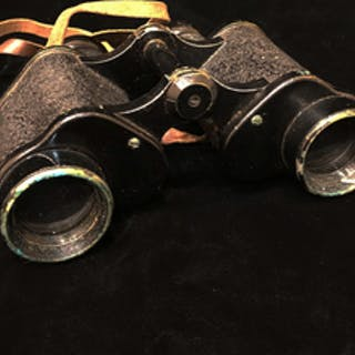 Zeiss 8x30 Binoculars in Leather Carrying Case