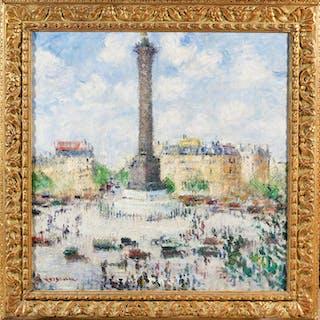 La Place de la Bastille - Ralph Gierhards