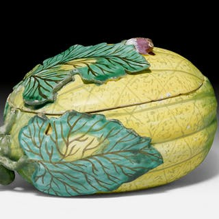 Tureen in form of a melon - Ralph Gierhards