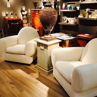 A Pair of Club Armchairs - Ralph Gierhards