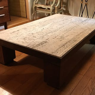 A low oak table - Ralph Gierhards