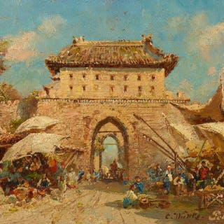A view of a Palace in Beijing - Ralph Gierhards