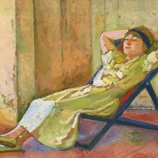 Portrait of Mrs Violette Hoffet - Ralph Gierhards