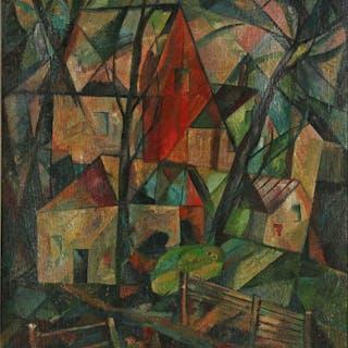 Cubist landscape - Ralph Gierhards