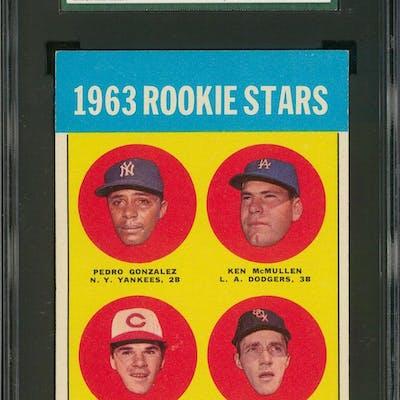 1963 Topps 537 Pete Rose Rookie Card Sgc 80 Exnm 6 Barnebys