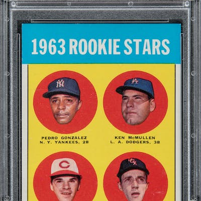 1963 Topps 537 Pete Rose Rookie Card Psa Nm Mt 8 Barnebys