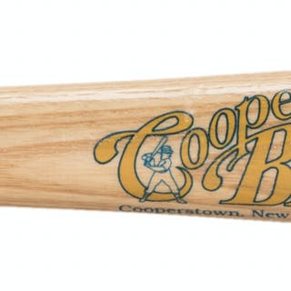 Lot of (2) 1961 New York Yankees Team Signed Cooperstown Bat Commemorative