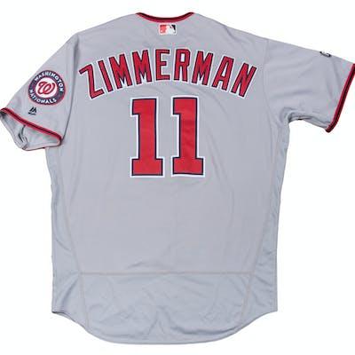 size 40 7187c 2d4bd 2016 Ryan Zimmerman Season-Long Game Used Washington ...
