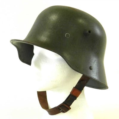 An Imperial German M16 steel helmet by Eisenhuttewerke