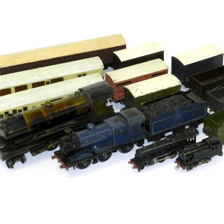 Bowman and Hornby O Gauge Locomotives and Rolling Stock