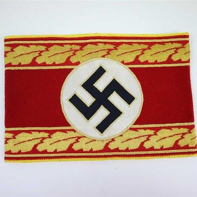 A reproduction NSDAP Reichs armband