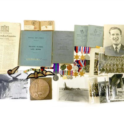 WW2 family group of medals