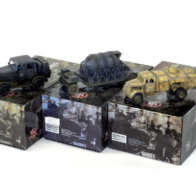 Figarti Miniatures Fuel Trucks and Transporters