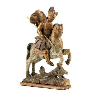 Der Heilige Georg besiegt den Drachen