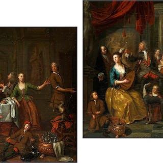 Ignace van der Becken, 1689 – 1774, zug.