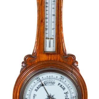 An English Wall Mounted Barometer