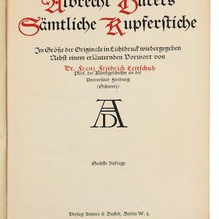 Albrecht Durer Samtliche Kupferstiche, 1912.