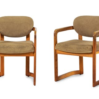 Madison Furniture Industries , Mid-20th Century, a set of four modernist