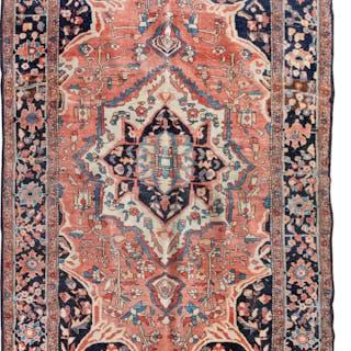 A Sarouk Wool Rug
