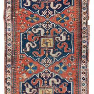 A Persian Wool Runner