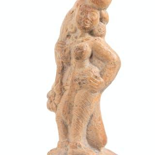 A Terracotta Votive Figure