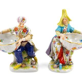 Two Dresden Porcelain Figures