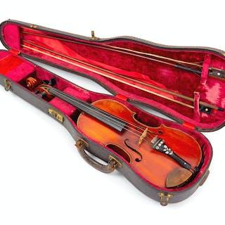 A Cased American Violin