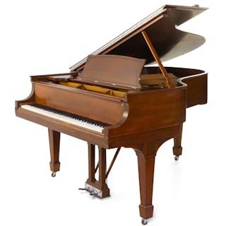 *A Steinway & Sons Mahogany Grand Piano
