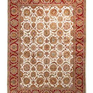 An Agra Wool Rug
