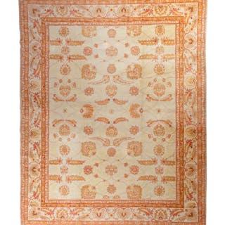An Oushak Wool Rug