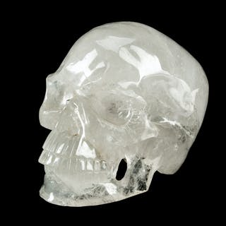 A Rock Crystal Skull