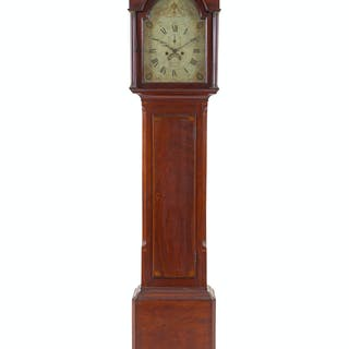 A Scottish George III Mahogany Tall Case Clock