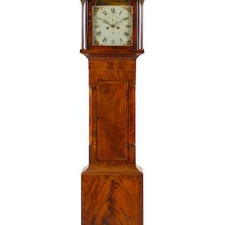 A Mahogany Tall Case Clock
