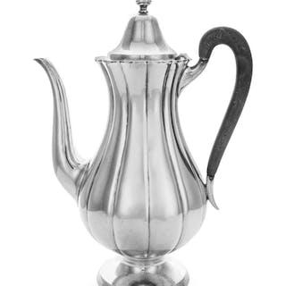 An American Silver Coffee Pot