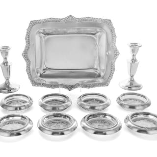A Collection of American Silver and Silver-Mounted Articles