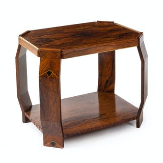 An Art Deco Style Marquetry Table