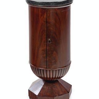A Mahogany Pedestal Cabinet