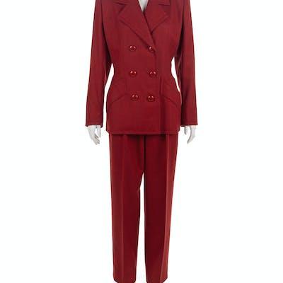 Givenchy Haute Couture Suit, 1980s