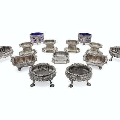 A Collection of Salt Cellars