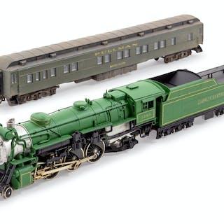 A United Scale Models Polychrome HO-Gauge Southern Railroad 4-6-2