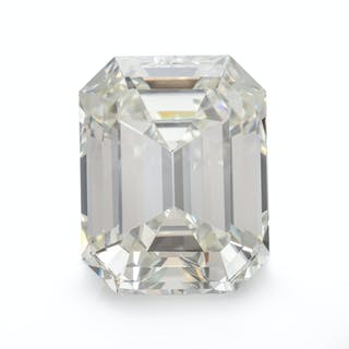 A 5.14 Carat Octagonal Step Cut Diamond