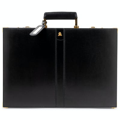 Max Cross Leather Briefcase, 1980-90s