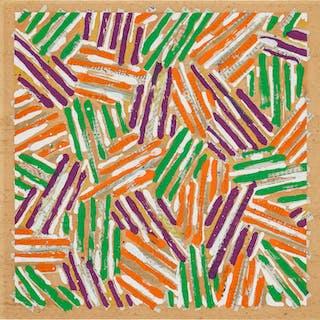 Untitled (catalogue cover for Jasper Johns / Screenprints)