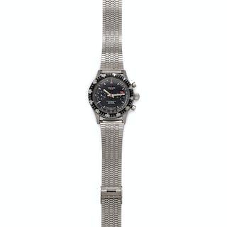 Croton, Stainless Steel 'Chronomaster Aviator Sea Diver' Wristwatch