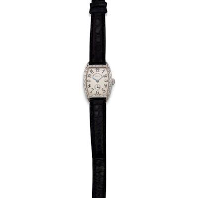 Franck Muller, 18K White Gold and Diamond Ref. 1750S6PM 'Cintree Curvex'
